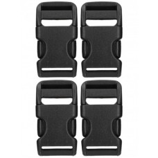 """Bauer 1"""" QUICK RELEASE BUCKLES (QTY 4)"""