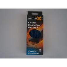 Raptor-X šnúrky voskové Modrá/Čierna