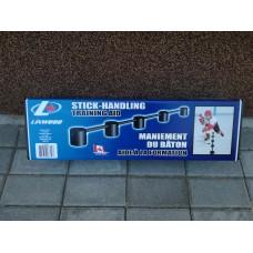 Stick handling training aid
